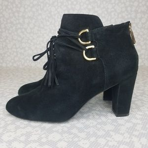 Taryn Rose TRISHA Suede Ankle Boots